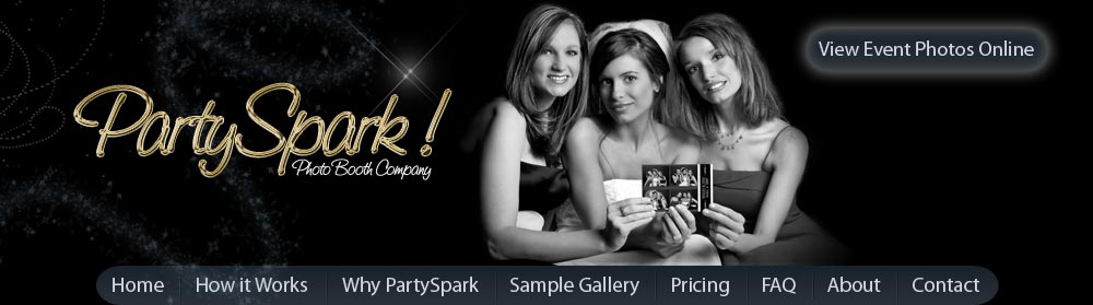 PartySpark Photo Booth - Cleveland Photo Booth Rental for Weddings